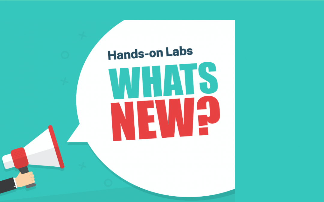 New Hands-on Labs – August